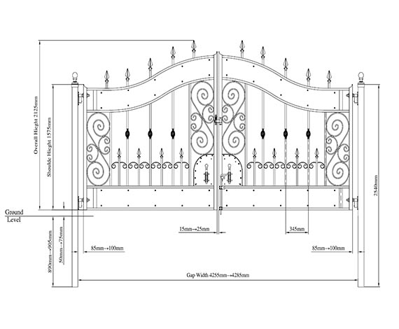 Tek gates and fences installation guide