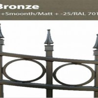 Custom gates and fences colors bronze