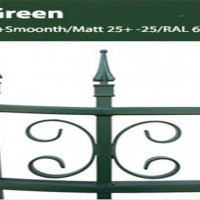 Custom gates and fences colors green