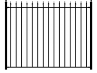 Fence Panel Style Arrow