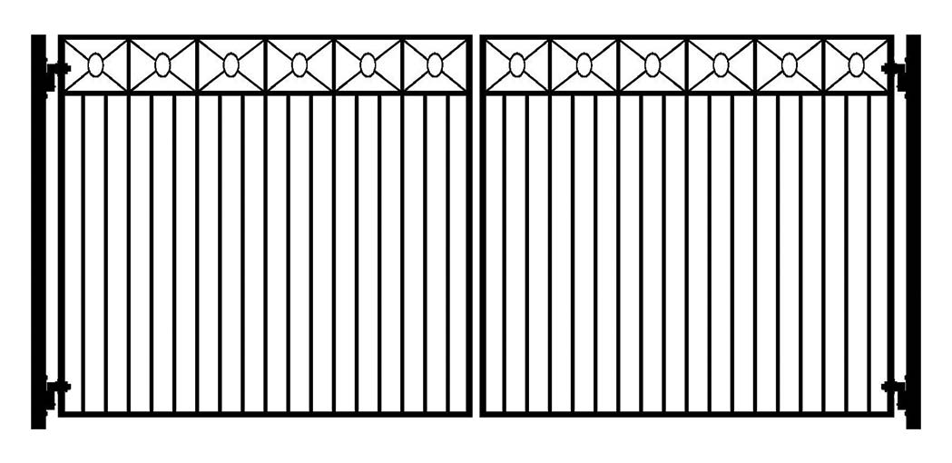 Complete Swing Driveway Gate And Gate Operator Kits